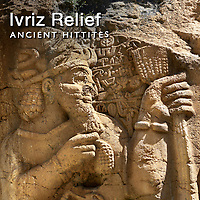 Pictures & Images of Ivriz Hittite relief rock sculpture.
