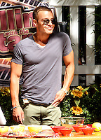 May 31, 2012 Joey Lawrence grilling at Live with Kelly! in New York City. © RW/MediaPunch Inc.