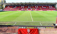 A general view of Sincil Bank, home of Lincoln City FC<br /> <br /> Photographer Andrew Vaughan/CameraSport<br /> <br /> Emirates FA Cup First Round - Lincoln City v Northampton Town - Saturday 10th November 2018 - Sincil Bank - Lincoln<br />  <br /> World Copyright &copy; 2018 CameraSport. All rights reserved. 43 Linden Ave. Countesthorpe. Leicester. England. LE8 5PG - Tel: +44 (0) 116 277 4147 - admin@camerasport.com - www.camerasport.com