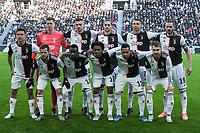 Juventus team line up <br /> Torino 6-1-2020 Juventus Stadium <br /> Football Serie A 2019/2020 <br /> Juventus FC - Cagliari Calcio <br /> Photo Federico Tardito / Insidefoto