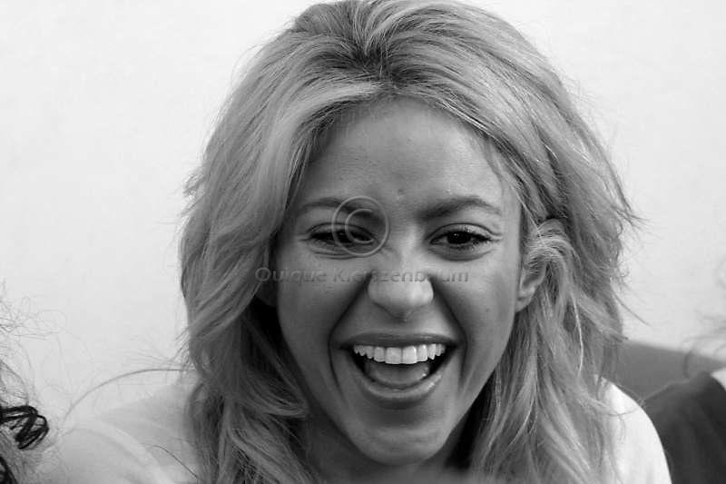 Colombian pop singer Shakira. Photo Quique Kierszenbaum