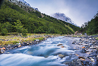 El Chileno Refuge, Torres del Paine National Park, Chile