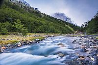 El Chileno Refuge, Torres del Paine National Park, Chile