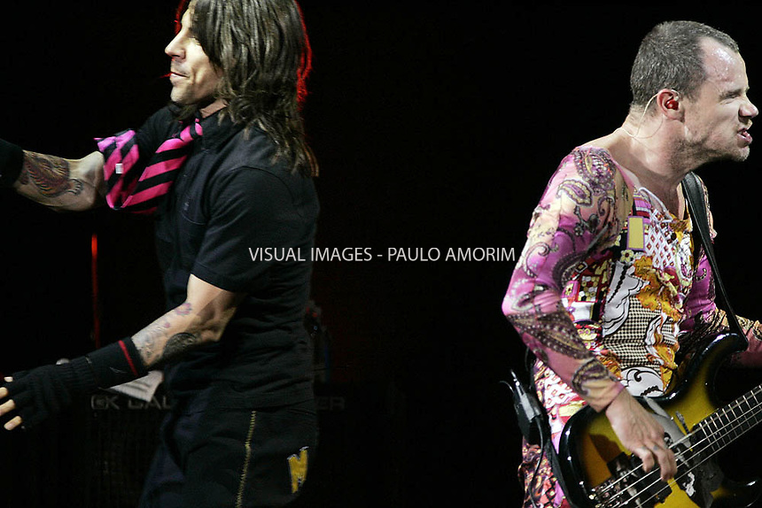 American band RED HOT CHILI PEPPERS performs during Rock in Rio festival at Bela Vista park in Lisbon, 3JUNE  2006.