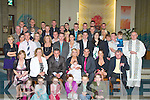 CHRISTENING: On Saturday in St Brendans Church, Tralee Christine Moriarty and Ronan Walsh had their Baby Leah - Walsh Moriarty Christenined and afterwards heded to the Greyhound Bar, Tralee for celebrations....