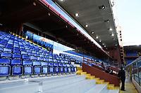The empty stadium. No spectators allowed to attend the match due health measures for Coronavirus Covid19 emergency <br /> Genova 08/03/2020 Stadio Marassi <br /> Football Serie A 2019/2020 <br /> UC Sampdoria - Hellas Verona <br /> Photo Daniele Buffa / Insidefoto