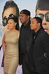 Cymphonique and Master P Romeo Miller stars in Tyler Perry's Madea's Witness Protection NYC Premiere on June 25, 2012 at AMC Lincoln Square Theater, New York City, NY. (Photo by Sue Coflin/Max Photos)