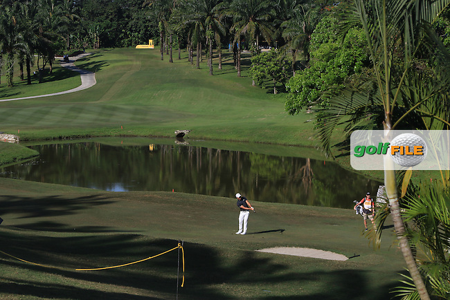 Haydn Porteous (RSA) on the 4th fairway during Round 4 of the Maybank Championship on Sunday 12th February 2017.<br /> Picture:  Thos Caffrey / Golffile<br /> <br /> All photo usage must carry mandatory copyright credit     (&copy; Golffile | Thos Caffrey)