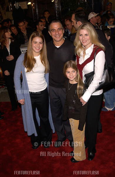 Actor TONY DANZA & family at the Los Angeles premiere of Harry Potter and the Sorcerer's Stone..14NOV2001.  © Paul Smith/Featureflash