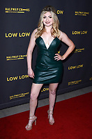"""LOS ANGELES - AUG 15:  Alexis Raich at the """"Low Low"""" Los Angeles Premiere at the ArcLight Hollywood on August 15, 2019 in Los Angeles, CA"""