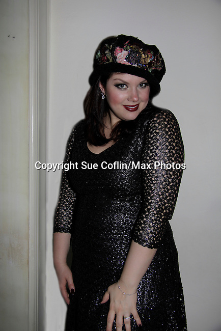 A night of entertainment by jazz singer Jane Monheit on January 30, 2014 at the Cafe Carlyle, New York City. (Photo by Sue Coflin/Max Photos)