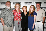 Phillip Bosco, Laila Robins, Swoosie Kurtz, Lily Rabe & Robin Lefevre attending the press Meet and Greet with the cast of The Roundabout Theatre Company production of HEARTBREAK HOUSE in New York City.<br />August 23, 2006