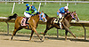 Fond Farewell winning at Delaware Park on 6/29/11