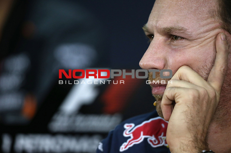 28.03.2011, Sepang-International-Circuit, Malaysia, MAL , Gro&szlig;er Preis von Malaysia / Kuala Lumpur, Training im Bild Christian Horner (GBR), Red Bull Racing, Sporting Director<br /> for the complete Middle East, Austria &amp; Germany Media usage only!<br />  Foto &copy; nph / Mathis