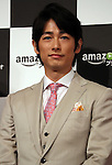 "May 31, 2016, Tokyo, Japan - Cast of Amazon Japan's original drama ""Hapimari, Happy Marriage!?"" Dean Fujioka smiles at a promotional event for Amazon Prime Video in Tokyo on Tuesday, May 31, 2016. Amazon Japan announced they would increase original contents for Amazon' video distribution service in Japan.      (Photo by Yoshio Tsunoda/AFLO)"