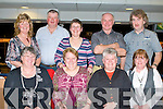 NIGHT AT THE DOGS: Having a great time at the Kingdom Greyhound Stadium Night at the Dogs on Friday seated l-r: Kit McAuliffe, Bridget and Jul Linehan and Margaret Fogarty. Back l-r: Betty and Neily Linehan, Marian and John J. O'Sullivan and Philip Fogarty.