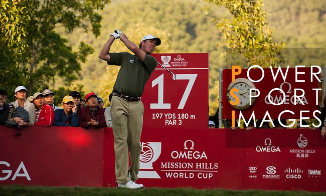 Richard Green of Australia in action during the 54th Omega Mission Hills World Cup of Golf on November 29, 2008 in Shenzhen, China. Photo by Victor Fraile