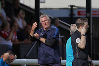Frustration for Solihull Moors manager, Tim Flowers during Woking vs Solihull Moors, Vanarama National League Football at The Laithwaite Community Stadium on 24th August 2019