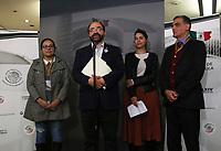 Ciudad de México, 22 enero 2020.- Esta tarde, el Senador sin partido, Emilio Álvarez Icaza ofreció una conferencia de prensa para fijar su postura en contra de la represión hacia la Caravana Migrante por parte de la Guardia Nacional. Durante esta conferencia, Álvarez Icaza, destacó que debe pararse esta política de contención y muros humanos. Asimismo, el Senador Independiente recriminó a Rosario Ibarra de Piedra, titular de la Comisión Nacional de Derechos Humanos (CNDH), la omisión que ha incurrido el órgano a su cargo en la crisis migratoria y de salud.
