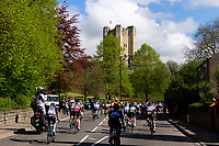 Picture by Alex Whitehead/SWpix.com - 04/05/2018 - Cycling - 2018 Asda Women's Tour de Yorkshire - Stage 1: Barnsley to Ilkley - Conisbrough Castle.