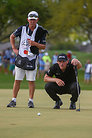 Matthew Wallace (ENG) looks over his putt on 13 during round 4 of the Arnold Palmer Invitational at Bay Hill Golf Club, Bay Hill, Florida. 3/10/2019.<br /> Picture: Golffile | Ken Murray<br /> <br /> <br /> All photo usage must carry mandatory copyright credit (© Golffile | Ken Murray)