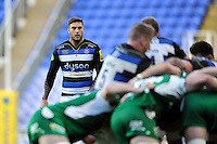 Matt Banahan of Bath Rugby watches play. Aviva Premiership match, between London Irish and Bath Rugby on November 7, 2015 at the Madejski Stadium in Reading, England. Photo by: Patrick Khachfe / Onside Images
