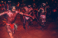 Rare Aboriginal Ceremony in Central Australia, Northern Territory