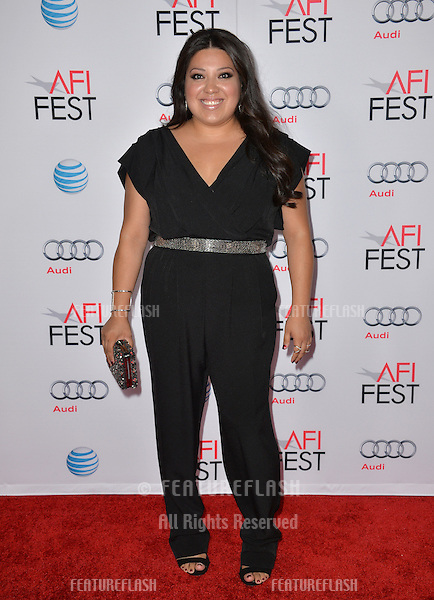 Actress Elizabeth de Razzo at the premiere of her movie &quot;The 33&quot;, part of the AFI FEST 2015, at the TCL Chinese Theatre, Hollywood. <br /> November 9, 2015  Los Angeles, CA<br /> Picture: Paul Smith / Featureflash