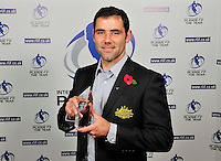 PICTURE BY SIMON WILKINSON/SWPIX.COM...Rugby League - Gillette 4 Nations 2011 - Rugby League International Federation International Player of the Year Awards 2011 - Tower of London, London, England - 02/11/11…Australia's Cameron Smith wins Hooker of the Year.