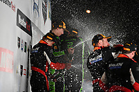 IMSA WeatherTech SportsCar Championship<br /> Motul Petit Le Mans<br /> Road Atlanta, Braselton GA<br /> Saturday 7 October 2017<br /> 31, Cadillac DPi, P, Dane Cameron, Eric Curran, Michael Conway, 2, Nissan DPi, P, Scott Sharp, Ryan Dalziel, Brendon Hartley, 6, ORECA LMP2, P, Helio Castroneves, Simon Pagenaud, Juan Pablo Montoya<br /> World Copyright: Richard Dole<br /> LAT Images<br /> ref: Digital Image RDPLM465