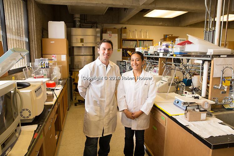 Portrait of Chris Fraser and Nancy Villa - UC Davis