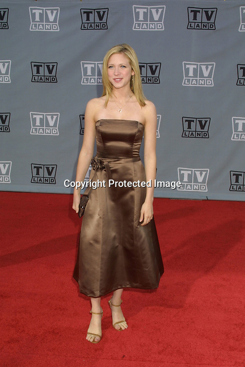 ©2003 KATHY HUTCHINS  / HUTCHINS PHOTO.THE TV LAND AWARDS:  A CELEBRATION OF CLASSIC TV .HOLLYWOOD, CA.MARCH 2, 2003..BRITTANY SNOW
