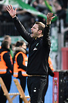 17.03.2019, BayArena, Leverkusen, GER, DFL, 1. BL, Bayer 04 Leverkusen vs SV Werder Bremen, DFL regulations prohibit any use of photographs as image sequences and/or quasi-video<br /> <br /> im Bild Florian Kohfeldt (SV Werder Bremen) unzufrieden / enttaeuscht / niedergeschlagen / frustriert, <br /> <br /> Foto © nph/Mauelshagen