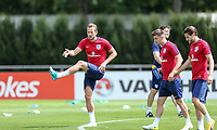 Harry Kane (Tottenham Hotspur) of England during an open England football team training session at Stade Omnisport, Croissy sur Seine, France  on 12 June 2017 ahead of England's friendly International game against France on 13 June 2017. Photo by David Horn/PRiME Media Images.