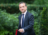 Welsh Secretary Alun Cairns arrives for the cabinet meeting at 10 Downing street