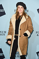 Sophie Rundle at the launch party for Skate at Somerset House, London, UK. <br /> 14 November  2017<br /> Picture: Steve Vas/Featureflash/SilverHub 0208 004 5359 sales@silverhubmedia.com