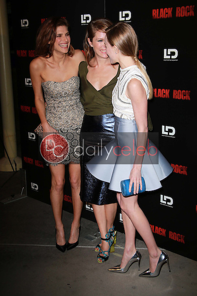 """Lake Bell, Katie Aselton and Kate Bosworth<br /> at the """"Black Rock"""" Los Angeles Special Screening, Arclight, Hollywood, CA 05-08-13<br /> David Edwards/Dailyceleb.com 818-249-4998"""