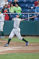 June 25, 2008: The Boise Hawks' Jake Opitz at-bat against the Everett AquaSox during a Northwest League game at Everett Memorial Stadium in Everett, Washington.