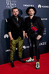 Felix Sabroso and Jau Fornes attends to 'Vogue Who's On Next' awards photocall at Gran Maestre Theatre in Madrid, Spain. May 23, 2019. (ALTERPHOTOS/A. Perez Meca)