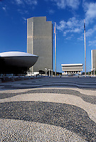 Albany, NY, New York, Governor Nelson A. The Egg building at Rockefeller Empire State Plaza in downtown Albany.