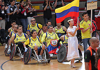 BOGOTA -COLOMBIA- 23 -11--2013.Inauguracion del Campeonato Suramericano de Rugby Maximus Suramerica   , coliseo Cayetano Cañizares / Inauguration of the South American Rugby Championship Suramerica Maximus,  Cayetano Cañizares coliseum .Photo: VizzorImage / Felipe Caicedol / Staff