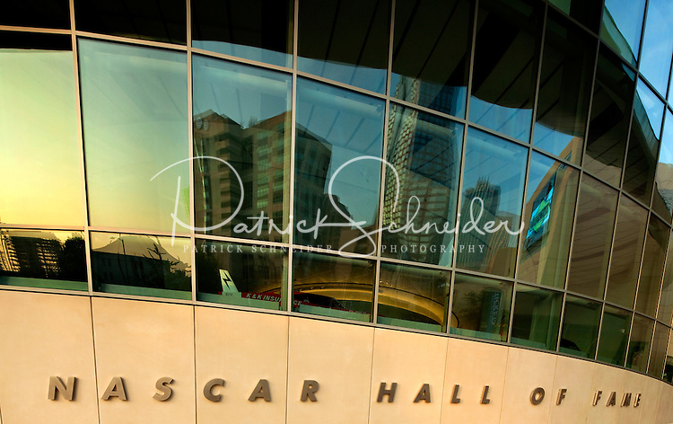 The 150,000-square-foot NASCAR Hall of Fame interactive museum opened in downtown Charlotte, NC, in May 2010. Owned by the City of Charlotte, licensed by NASCAR and operated by the Charlotte Regional Visitors Authority (CRVA), the NASCAR Hall of Fame documents and commemorates the roots and legends of stock car motorsports/racing. Pei Cobb Freed & Partners were lead designers, with local architectural support from Charlotte's Little Diversified Architectural Consulting.