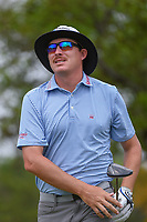 Joel Dahmen (USA) watches his tee shot on 2 during day 2 of the Valero Texas Open, at the TPC San Antonio Oaks Course, San Antonio, Texas, USA. 4/5/2019.<br /> Picture: Golffile | Ken Murray<br /> <br /> <br /> All photo usage must carry mandatory copyright credit (© Golffile | Ken Murray)