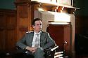 Prof Michael Moore, Riddel Hall, Queen's University Belfast Belfast, Dec 15th, 2011. Photo/Paul McErlane
