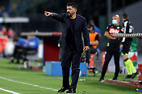 Gennaro Gattuso coach of SSC Napoli reacts during the second leg of Italy Cup semifinal between SSC Napoli and FC Internazionale at San Paolo Stadium in Naples ( Italy ), June 13th, 2020. Play resumes behind closed doors following the outbreak of the coronavirus disease. <br /> Photo Stringer CP/ Insidefoto