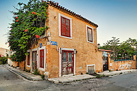 A picturesque taverna of Plaka in Athens, Greece