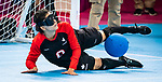 Lima, Peru - 28/August/2019 - Canada competes in women's goalball at the Parapan Am Games in Lima, Peru. Photo: Dave Holland/Canadian Paralympic Committee.