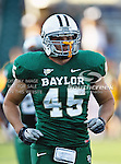 Baylor Bears linebacker Matt Ritchey (45) in action during the game between the Rice Owls and the Baylor Bears at the Floyd Casey Stadium in Waco, Texas. Baylor defeats Rice 56 to 31..
