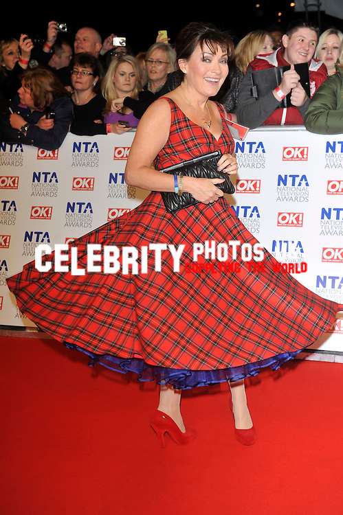 Lorraine Kelly  at the National Television Awards at the O2 on January, 25th 2012 in London, England Picture By: Brian Jordan / Retna Pictures.Job:.Ref: BJN  .-.*World Rights*