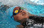 Action during the New Zealand Junior Swimming Championships, Owen G Glenn National Aquatic Centre, Auckland New Zealand. Sunday 21 February 2016 Photo: Simon Watts/www.bwmedia.co.nz